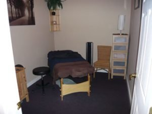 Massage Therapy Room at Ellis Chiropractic Of Puyallup